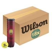 Tennisbal Wilson Team W Practice T Yellow 4-Tin (Doos 18x4)