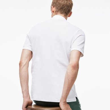 Lacoste Polo Slim Fit Blanc