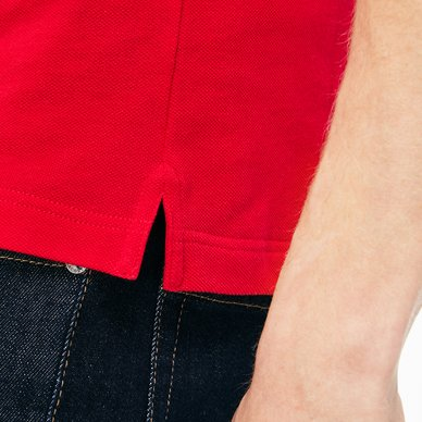 Polo Lacoste Slim Fit Rouge