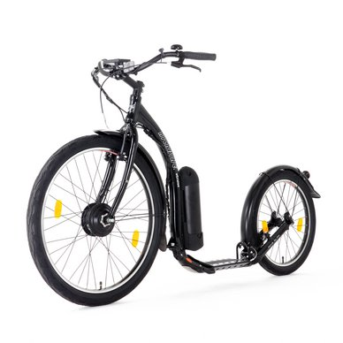 Step Kickbike E-Cruiser Max Black