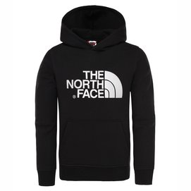 Kinder Trui The North Face Youth Drew Peak Pullover Hoodie TNF Black TNF Black-M