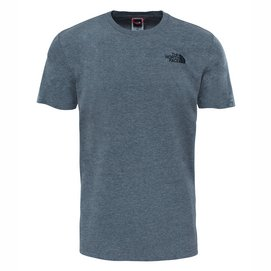 T-Shirt The North Face Men S S Red Box Tee TNF Mid Grey