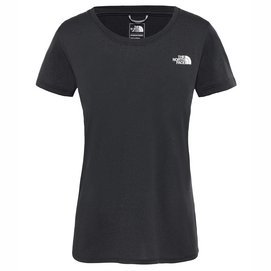 T-Shirt The North Face Women Reaxion Ampere TNF Black Heather-M