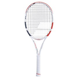 Tennisracket Babolat Pure Strike Tour White Red Black 2021 (Onbespannen)