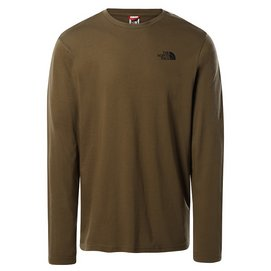T-Shirt The North Face Men L/S Easy Tee Military Olive
