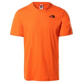 T-Shirt The North Face Men S/S Red Box Tee Flame