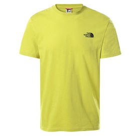 T-Shirt The North Face Men S/S Simple Dome Tee Citronelle Green-XXS