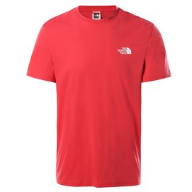 T-Shirt The North Face Men S/S Simple Dome Tee Rococco Red