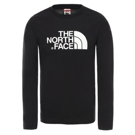 Shirt The North Face Youth L/S Easy Tee TNF Black TNF White