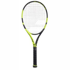 Tennisracket Babolat Pure Aero + Black Yellow (Onbespannen)
