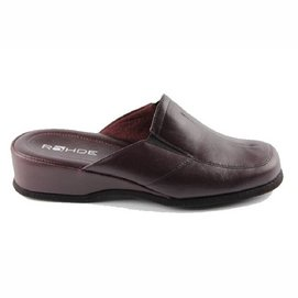Pantoufles Rohde Women 6142 Mandal Wine Red-Taille 39