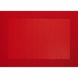 Placemat ASA Selection Red PVC