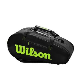 Tennistas Wilson Super Tour 3 Competition Charcoal Green