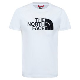 T-Shirt The North Face S/S Easy Tee TNF White TNF Black Kinder-L