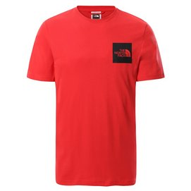 T-Shirt The North Face Men S/S Fine Tee Horizon Red