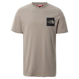 T-Shirt The North Face Men S/S Fine Tee Mineral Grey
