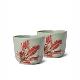 Egg Cup Essenza Gallery Stone Green (Set of 2)