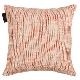 Coussin KAAT Amsterdam Monsoon Rouge (45 x 45 cm)