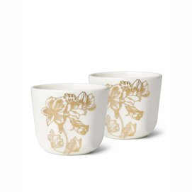 Egg Cup Essenza Masterpiece Off White (Set of 2)