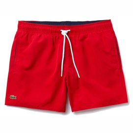 Badehose Lacoste MH6270 Red Navy Blue Herren