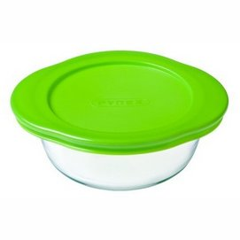 Oven Dish Pyrex Cook & Store Round Transparent 1 L