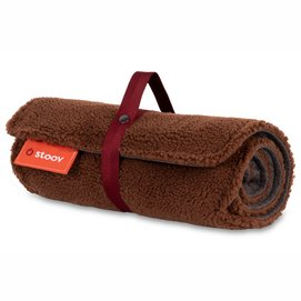 Heizdecke Stoov® Big Hug USB Woolly Brown