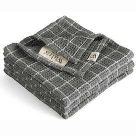 Dishcloth Walra Dry with Cubes Off Black (Set of 3)