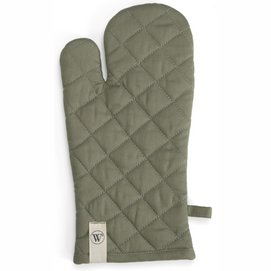 Oven Glove Walra Cook with a Smile Army Green (16 x 32 cm)