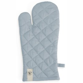 Oven Glove Walra Cook with a Smile Jeans Blue (16 x 32 cm)