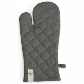 Oven Glove Walra Cook with a Smile Off Black (16 x 32 cm)