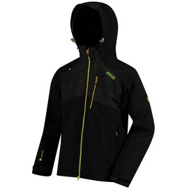 Regenjacke Regatta Pack It III Black Herren