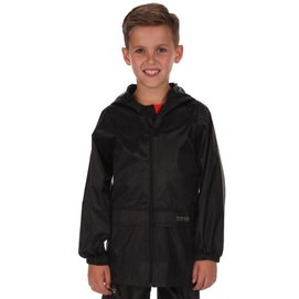 Regenjacke Regatta Stormbreak Jacket Black Kinder