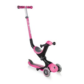 Step Globber Go Up Deluxe Pink