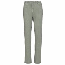 Trousers Essenza Lindsey Striped Long Laurel Green