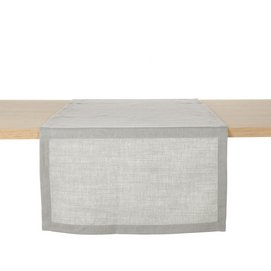 Table Runner Libeco Polylin Washed Ash Linen (Set of 2)