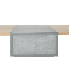 Table Runner Libeco Polylin Washed Grey Linen (Set of 2)