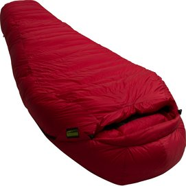 Schlafsack Lowland K2 expedition Red