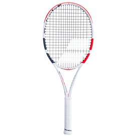 Tennisracket Babolat Pure Strike 100 White Red Black 2020 (Onbespannen)-Gripmaat L0