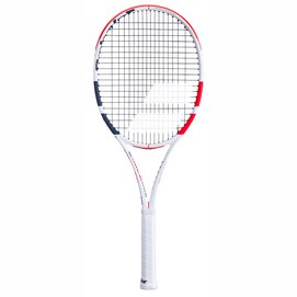 Tennisracket Babolat Pure Strike 16/19 White Red Black 2020 (Onbespannen)-Gripmaat L4