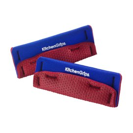 Pan Holder KitchenGrips Wide Blue Red