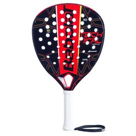 Padel Racket Babolat Technical Vertuo Black Yellow Red