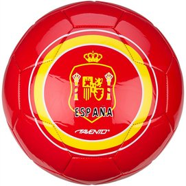 Voetbal Avento Glossy World Soccer Rood Geel