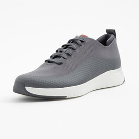 FitFlop Men Eversholt Knit Sneaker Deep Grey-Schoenmaat 45