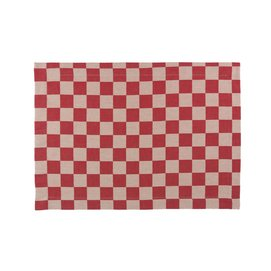 Placemat Elias Pompdoek Red (set van 2)