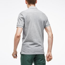 Lacoste Polo Slim Fit Argent Chine