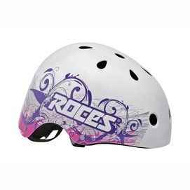 Helm Roces Tattoo Aggressive Wit-48 - 52 cm