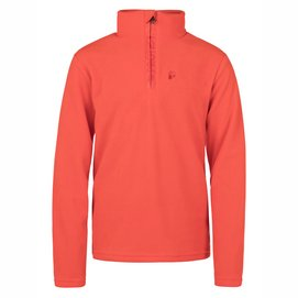 Skipully Protest Boys Perfecty 1/4 Zip Top Orange