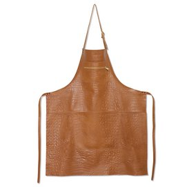 Apron Dutchdeluxes Zipper Style Croco Style New Natural