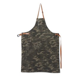 Apron Dutchdeluxes BBQ Style XL Army Green