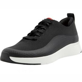 FitFlop Men Eversholt Knit Sneaker Black-Schoenmaat 44